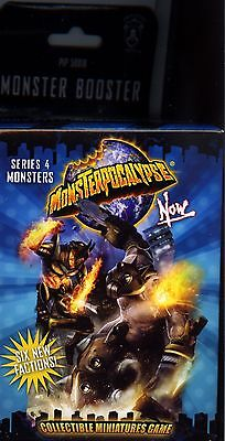 Monsterpocalypse Now Series 4 Monster Booster Pack MINT