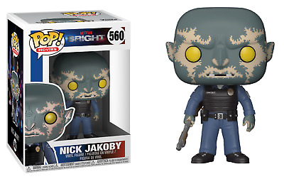 Funko Pop! Marvel: Bright Netflix Movie - Nick Jakoby 560 Vinyl