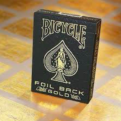 Bicycle MetalLuxe Gold Playing Cards Deck Limited Edition by JAKARTE
