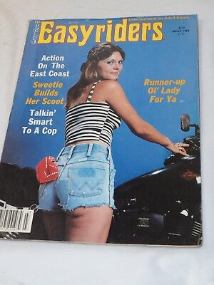 Easy Rider Magazine #117 MAR 1983 Action on the East Coast Runner-up Lady for Ya