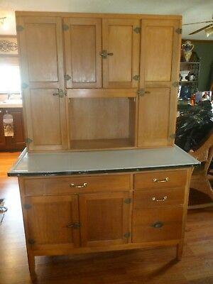 Antique  Hoosier Style 1920's - 30's Cabinet