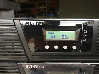 Eaton 9130 2000VA Tower/rack Mountable UPS & 2 x EBM,s(external battery modules)