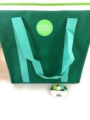 Whole Foods Market Hot Cocoa Recycled Reusable Grocery Shopping Tote