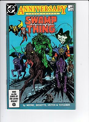 DC Swamp Thing #50  8.5 VF+ 1st Justice League Dark Moore FREE SHIPPING