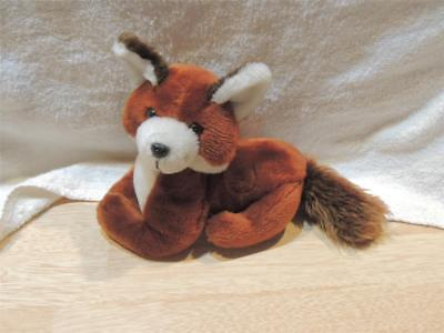 Vintage 1980 Russ Berrie Plush Red Fox Stuffed Animal Excellent Clean