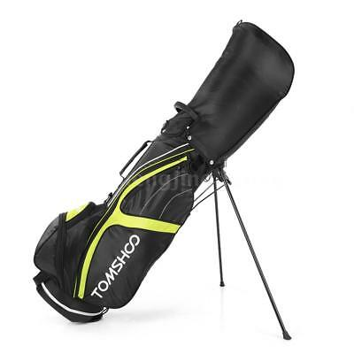 Golf Stand Bag Cart Bag 14 Way Full Length Individual Divider Top Golf Bag V8O1