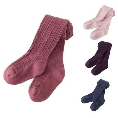 Kids Toddler Baby Girls Warm Cotton Tights Stockings Pantyhose Pants Socks New