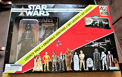 Star Wars 40th Anniversary Legacy Pack - Includes Darth Vader Action Figure- NEW