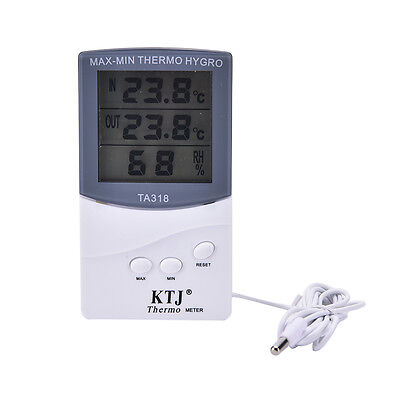 Indoor Home House Digital LCD Thermometer HygrometerMeter emperature Humidity XU