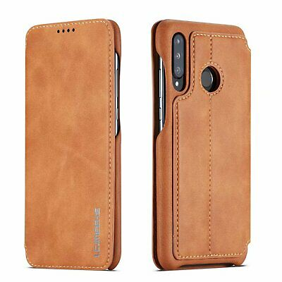 For Huawei P20 Pro Lite Slim Flip Magnetic Leather Case Wallet Cover Stand