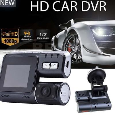 Dual Car Camera True HD 1080P G-sensor Recorder Crash Cam Dash DVR