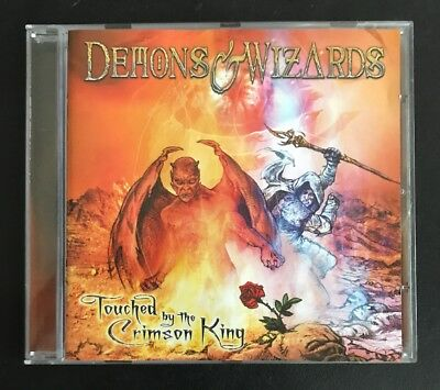 DEMONS & WIZARDS 'Touched By The Crimson King' 2005 CD album Death Heavy Metal