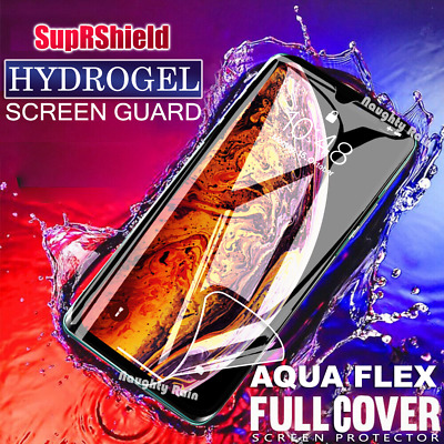 SupRShield Full Coverage Hydrogel Screen Protector For iPhone X XR XS Max 8 7