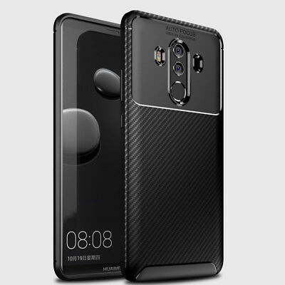 For Huawei Mate 10 Lite 20 Pro Shockproof Silicone Hybrid Case Soft TPU Cover