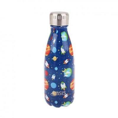 NEW Oasis Insulated Drink Bottle 350ml - Outer Space
