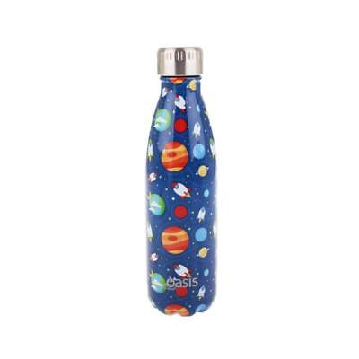 NEW Oasis Insulated Drink Bottle 500ml - Outer Space