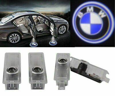 4 Logo LED Step Door Courtesy Welcome Light Ghost Shadow Laser Projector For BMW