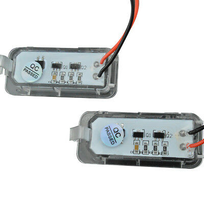 2x LED License Plate Number light for Ford Focus/Mondeo/Fiseta 08-18 Plug& Play