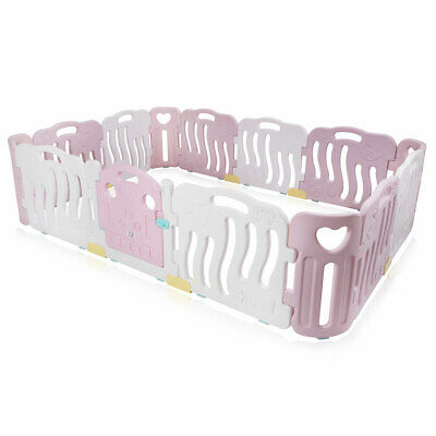 Playpen Plastic Play Pen Foldable Portable Child Barrier Room Divider Baby Vivo