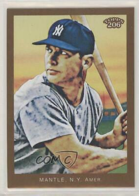 no card number; Portrait New York Yankees 2009 Topps 206 #154.2 Mickey Mantle