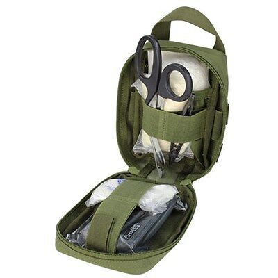 Condor 191031 Tactical MOLLE Rip-Away Lite EMT Medic Utility Aid Pouch OD Green