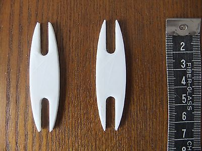 2 Mini Weaving Shuttles for Weaving with Looms *NEW* Made From ECO Plastic