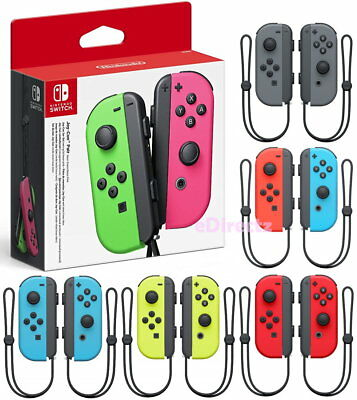 Nintendo Switch Joy-Con Pair Controller Game Straps Bluetooth NFC