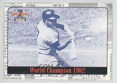 1997 Score Board Shoe Box Collection #59 Mickey Mantle New York Yankees Card