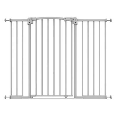 Safety Pet Gate 36 Inch Dog Cat Safe Step Pressure Mounted Baby Extra Tall Wide
