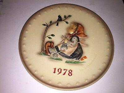 1978 Hummel Annual Plate HAPPY PASTIME