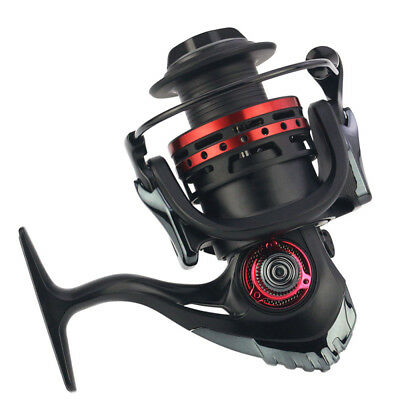 13+1BB Full Metal Self-locking Saltwater/Freshwater Spinning Fishing Reel Wheel