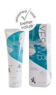 YES Organic Water Based Personal Lubricant-50ml