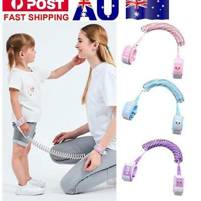Safety Harness Leash Anti Lost Wrist Link Traction Rope For Toddler Baby Kids AU