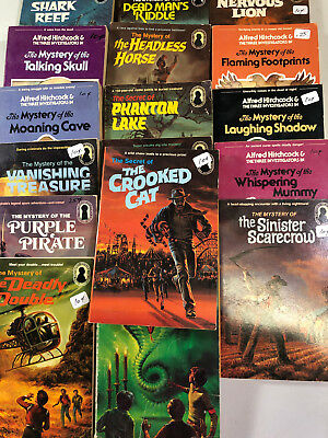 Alfred Hitchcock Lot of 19 The Three Investigators YA Mystery of Secret of