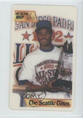 1992 The Seattle Times Golden Moments Ken Griffey Jr (Holding Trophy) Mariners