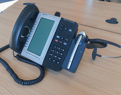 MITEL 5330E GIGABIT IP Phone with Cordless Headset & Accessories Module