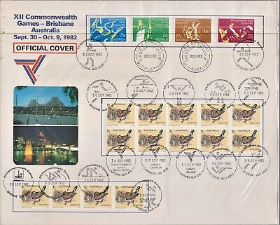 XII Commonwealth Games 1982 - Australia Post Official Cover - Uncirculated