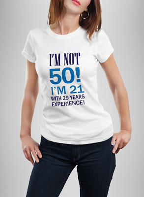 Mens Womanst Shirt Funny 30Th40Th 50Th Birthday T