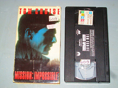 Mission Impossible 1 (VHS)(French) Tom Cruise Testé