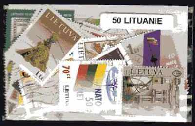 Lithuania - Lithuania 50 stamps different