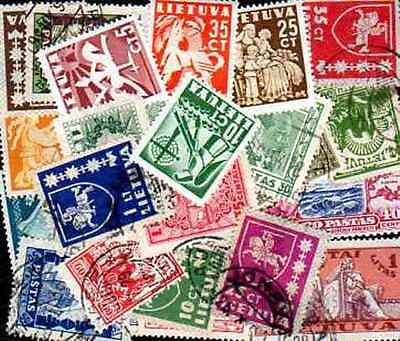 Lithuania - Lithuania 100 stamps different
