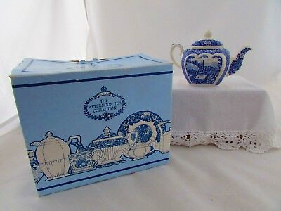 """Boxed Sadler """"afternoon Tea Collection """" One- Cup Teapot"""