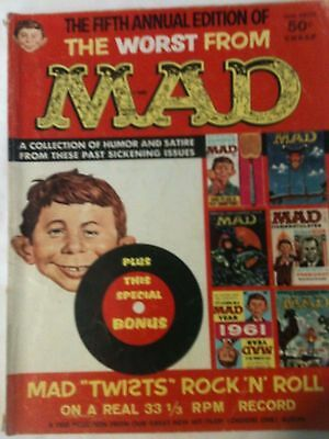 Worst From MAD Magazine 1962 Annual 5 Wally Wood Art Calendar Pages Bonus