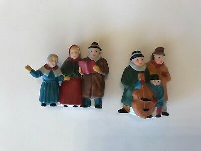 Department Dept 56 Christmas Carolers Village Collectible Figures