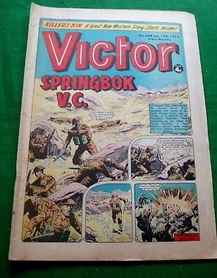Lt NORTON (S.A.) V.C. HAMPSHIRE REGIMENT IN ITALY  WW2 COVER STORY  VICTOR 1974