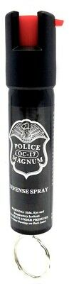 Police Magnum pepper spray .75oz keyring personal safety self defense protection