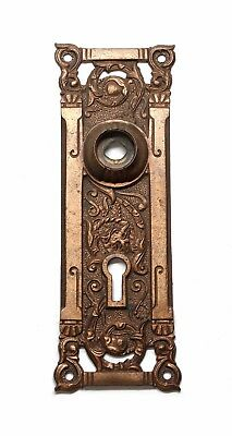 Columbian Bronze Plate with Keyhole
