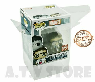 Vinyl Box Case Protector for The Hulk & Bruce Banner Funko Pop + Micro Cloth