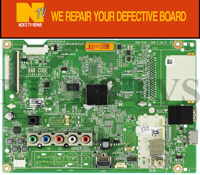 Mail-in Repair Service For Sony XBR-65X850C Main Board 1 YEAR WARRANTY