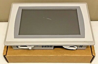"Allen Bradley 2711P-T9W21D8S /A PanelView Plus 7 Color 9"" Ethernet 24V DC READ"
